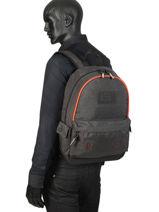 Backpack 1 Compartment Superdry Gray backpack men M9100024-vue-porte