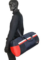 Sac Voyage Sport Mix Tommy hilfiger Blue sport mix AM04782-vue-porte