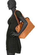 Sac Shopping Format A4 Gallantry Marron format a4 R1529-1-vue-porte