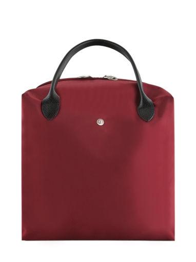 Longchamp Nendo Sacs porté main Rouge