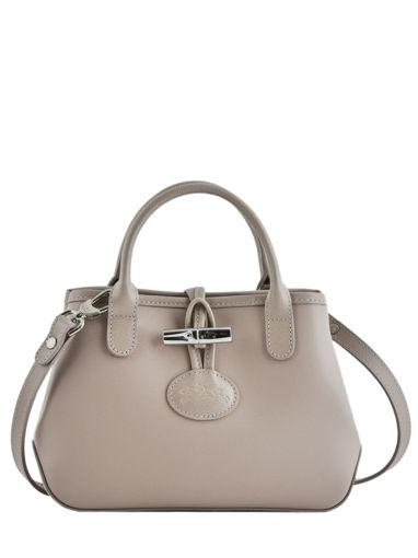 Longchamp Roseau Messenger bag Beige