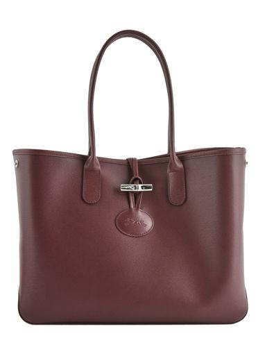 Longchamp Roseau Besaces Rouge