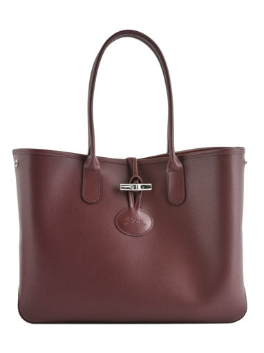 Longchamp Roseau Hobo bag Red