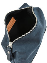 Le Cabas Pouch Sequins Vanessa bruno Blue cabas 1V42032-vue-porte