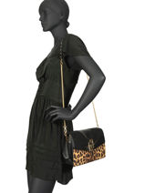 Crossbody Bag Creativa Liu jo Brown creativa A69036A-vue-porte