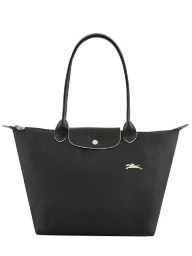 Longchamp Le pliage club Hobo bag Black
