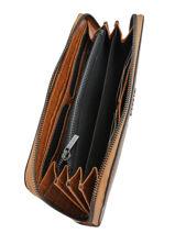 Leather Darwin Wallet Etrier Brown darwin EDAR91-vue-porte