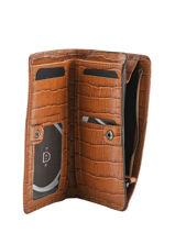 Leather Darwin Wallet Etrier Brown darwin EDAR92-vue-porte