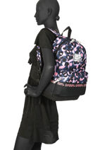 Backpack 1 Compartment Superdry Multicolor backpack woomen W9100016-vue-porte