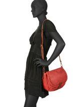Shoulder Bag Authentic Torrow Red authentic TAUT05-vue-porte