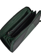 Wallet Leather Etrier Green escarpe EESC91-vue-porte