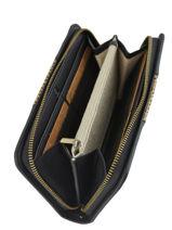 Wallet Woomen Black abelia WABEL91-vue-porte