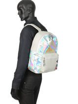 Backpack 1 Compartment Fila Gray holografic 685097-vue-porte