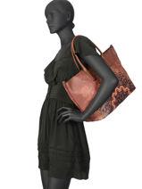 Shoulder Bag A4 Tekila Desigual Black tekila 19WAXP21-vue-porte