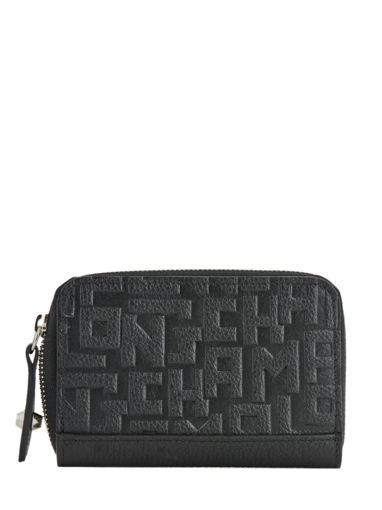 Longchamp La voyageuse lgp Coin purse Black