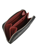 Longchamp La voyageuse lgp Porte-monnaie Noir-vue-porte