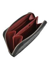 Longchamp La voyageuse lgp Coin purse Black-vue-porte