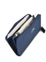 Wallet L.12.12 Lacoste Blue l.12.12 concept NF2900PO-vue-porte
