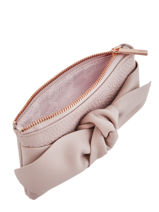 Porte-monnaie Soft Knot Cuir Ted baker Rose soft knot MELLANY-vue-porte