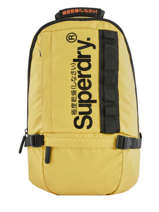 Sac à Dos 1 Compartiment + Pc 15'' Superdry Jaune backpack men M9100023