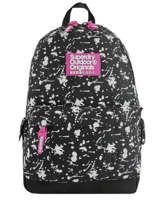 Sac à Dos 1 Compartiment Superdry Noir backpack woomen W9100014