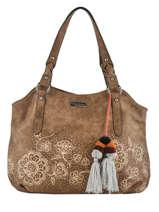 Shoulder Bag Corno Nero Les tropeziennes Brown corno nero COR01
