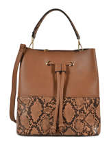 Bucket Bag Python Miniprix Brown python DQ8561