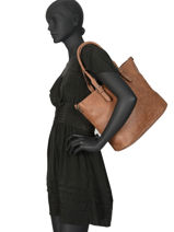Shoulder Bag Olivia Miniprix Brown olivia 6201-vue-porte