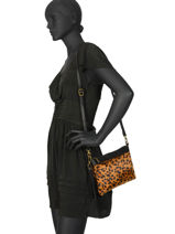 Crossbody Bag Goa Leopard Miniprix Black goa MD7084-L-vue-porte