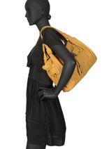 Shoulder Bag Classic Miniprix Yellow classic 7966-vue-porte