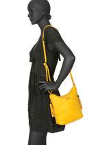 Crossbody Bag Classic Miniprix Yellow classic H5623-vue-porte