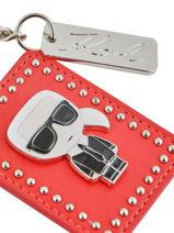 Keychain K Ikonik Karl lagerfeld Red k ikonic 96KW3805-vue-porte