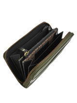 Leather Craft Caily Wallet Burkely Green craft caily 873147-vue-porte