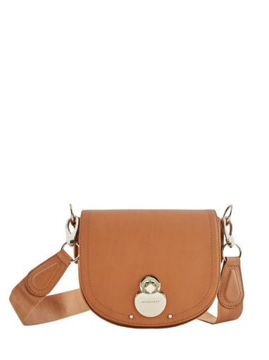 Longchamp Cavalcade Messenger bag Beige