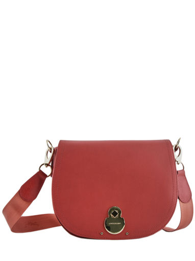 Longchamp Cavalcade Sacs porté travers Rouge