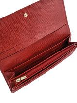Longchamp Cavalcade Portefeuilles Rouge-vue-porte