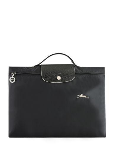 Longchamp Le pliage club Briefcase Black