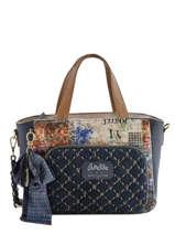 Sac Trapeze Couture Anekke Bleu couture 29881-65