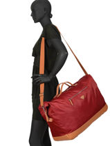 Travel Bag Cassis Rivira Jump Red cassis rivira 8265-vue-porte