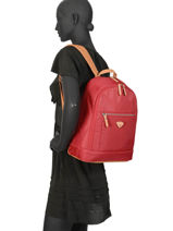 Backpack Jump Red cassis riviera 8262-vue-porte