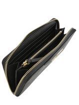 Leather Wallet K Klassik Karl lagerfeld Black klassik 96KW3221-vue-porte