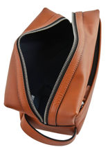 Trousse De Toilette Casual Cuir Tommy hilfiger Marron casual leather AM05316-vue-porte
