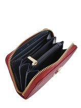 Th Core Zip Wallet Tommy hilfiger Red th core AW07366-vue-porte