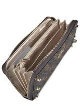 Wallet Guess Brown aline SG743746-vue-porte