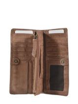 Leather Heritage Wallet Biba Brown accessoires MIL5L-vue-porte