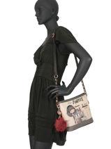 Crossbody Bag Couture Anekke Beige couture 29882-55-vue-porte
