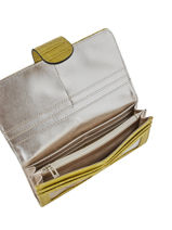 Wallet Guess Yellow cleo CG743559-vue-porte