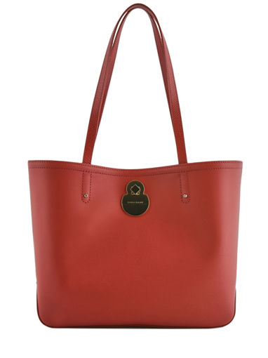 Longchamp Cavalcade Hobo bag Red