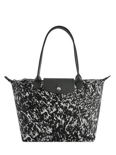 Longchamp Le pliage appaloosa Hobo bag Black