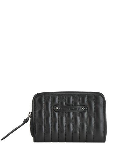 Longchamp Amazone matelassÉ Porte-monnaie Noir